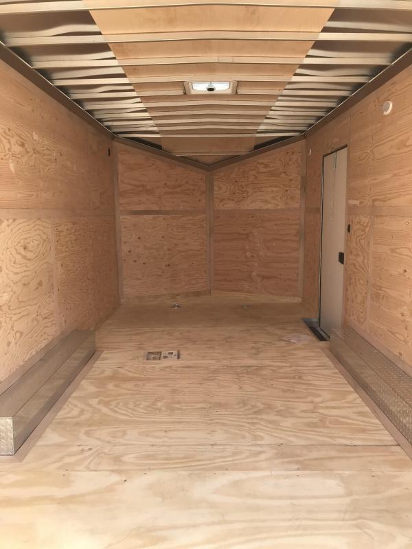2018 Cargo Mate 8x20 Aluminum Equipment Trailer