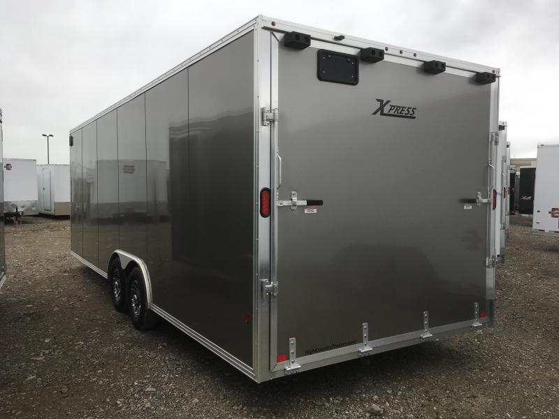 High Country 8x24 Express Enclosed Aluminum Cargo w/ V-nose