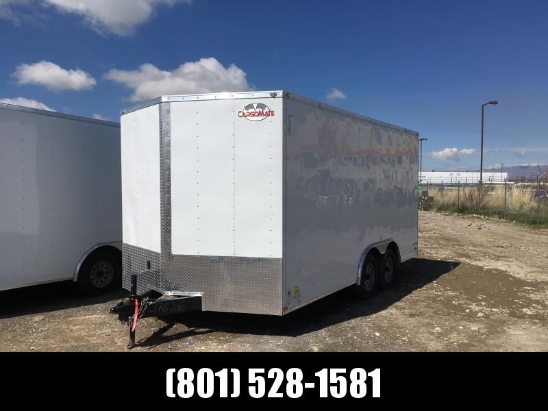 2019 Cargo Mate 8.5x16 Car Hauler Enclosed Cargo Trailer
