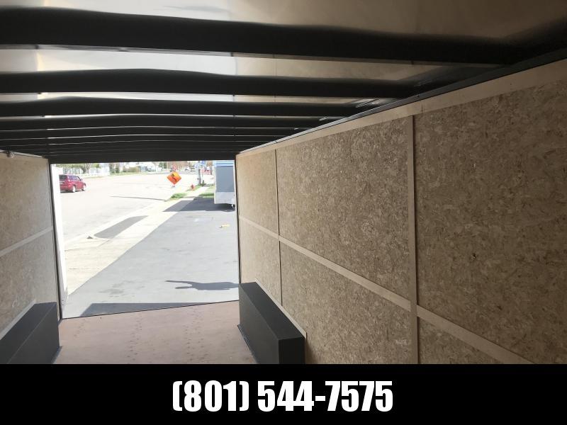 2018 Charmac Trailers 22 Gooseneck Enclosed Cargo Trailer