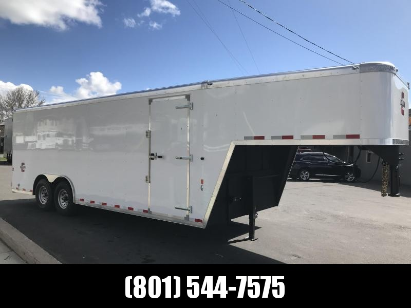 2018 Charmac Trailers 22 Gooseneck Enclosed Cargo Trailer in Ashburn, VA
