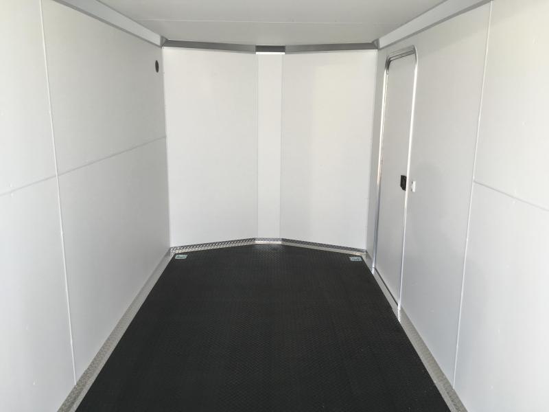 2019 Silver & Black Charmac Trailers 7x16 Stealth Enclosed Cargo Trailer