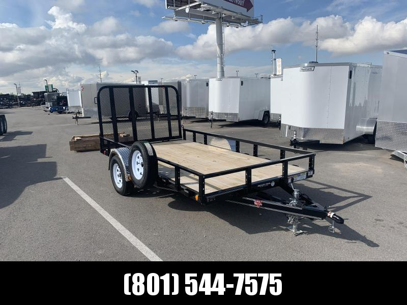 77x12 PJ Single Axle Channel (U7) Utility Trailer
