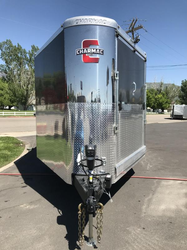 2018 Charmac Trailers 28 Tri Sport Snowmobile Trailer