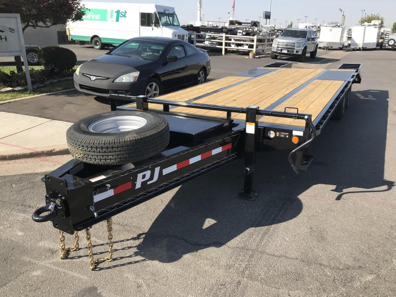 2019 PJ Trailers 25ft PLP Pintle Flatbed Trailer
