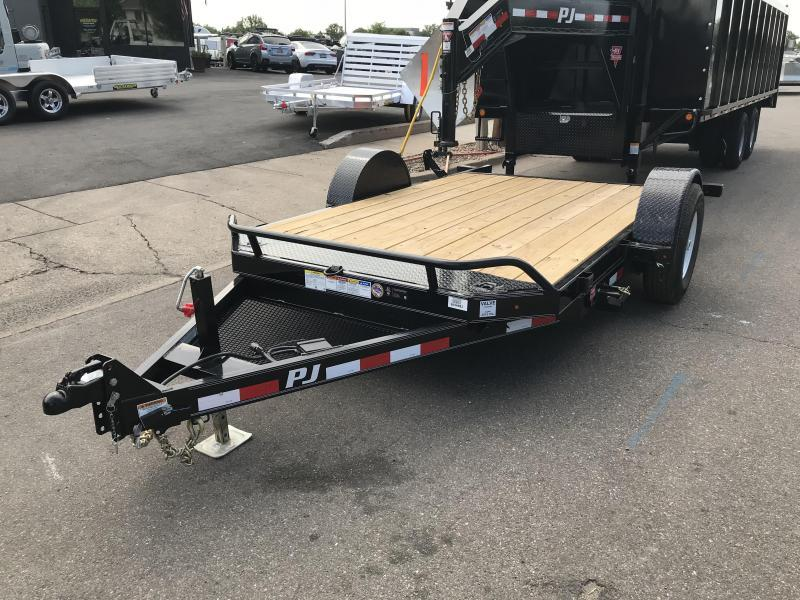 2019 PJ Trailers 13ft (T1) Equipment Trailer