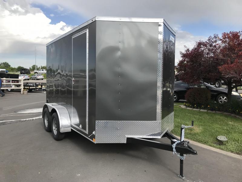 2018 Haulmark 7 x 12 Enclosed Cargo Trailer