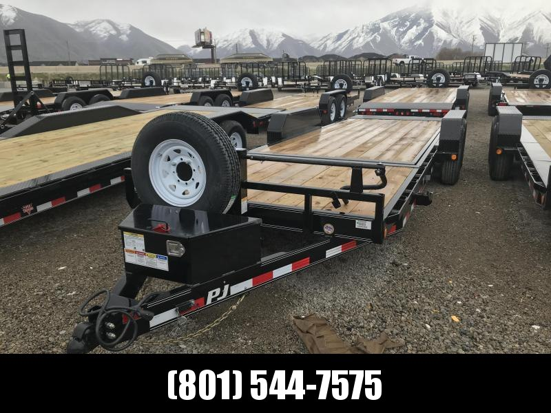 PJ 22ft - 6 in. Channel Equipment Tilt (T6) Equipment Trailer