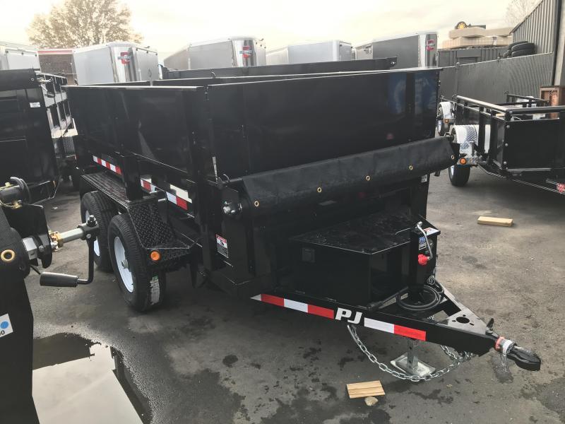 2019 PJ Trailers 10 ft x 60 in. Utility Dump (D5) Dump Trailer