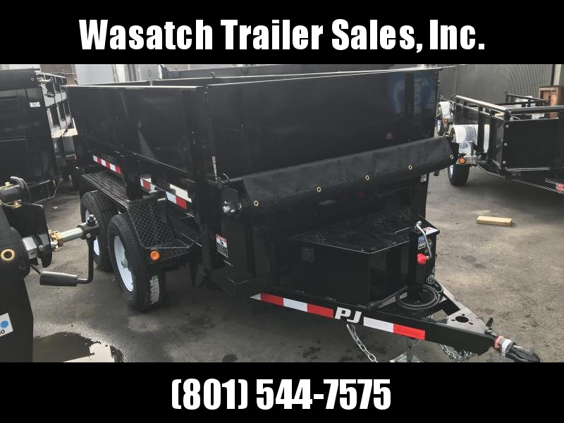 2019 PJ Trailers 10 ft x 60 in. Utility Dump (D5) Dump Trailer