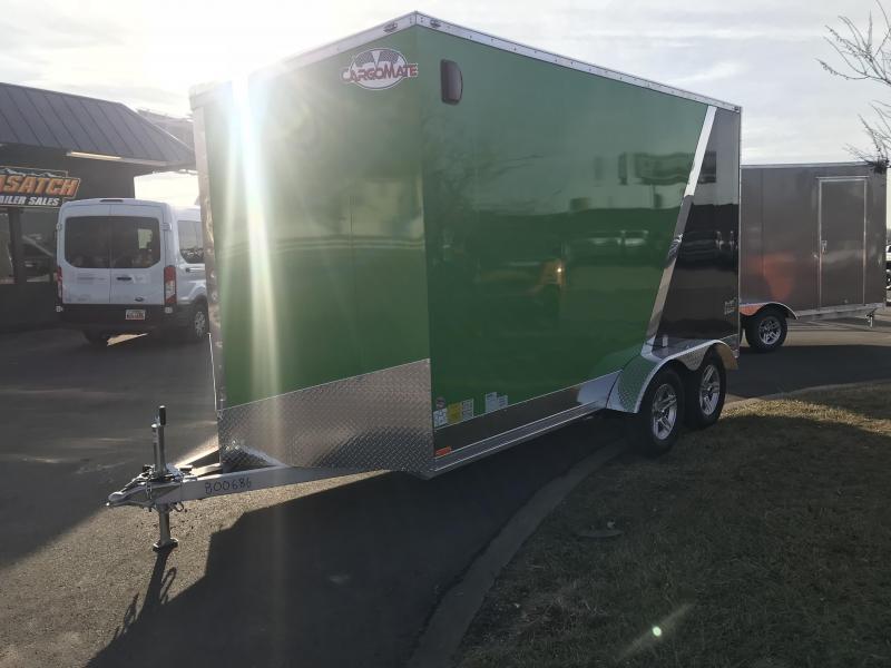 2018 Cargo Mate 7X14 RedLine Aluminum Enclosed Cargo Trailer