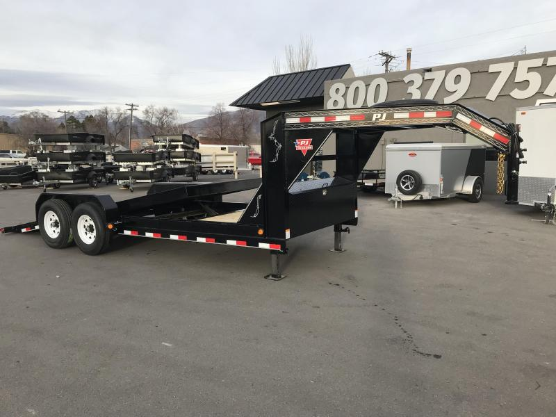 2019 PJ Trailers 20 ft - 6 in. Channel Equipment Tilt (T6) Car / Racing Trailer