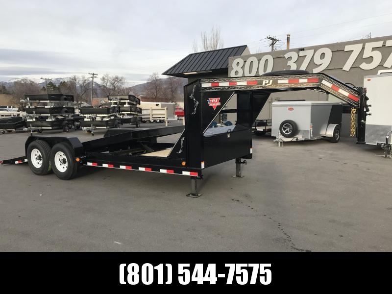 2019 PJ Trailers 20 ft - 6 in. Channel Equipment Tilt (T6) Equipment Trailer