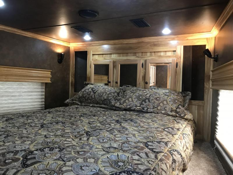 2019 Sundowner Trailers 42 Living Quarters Toy Hauler