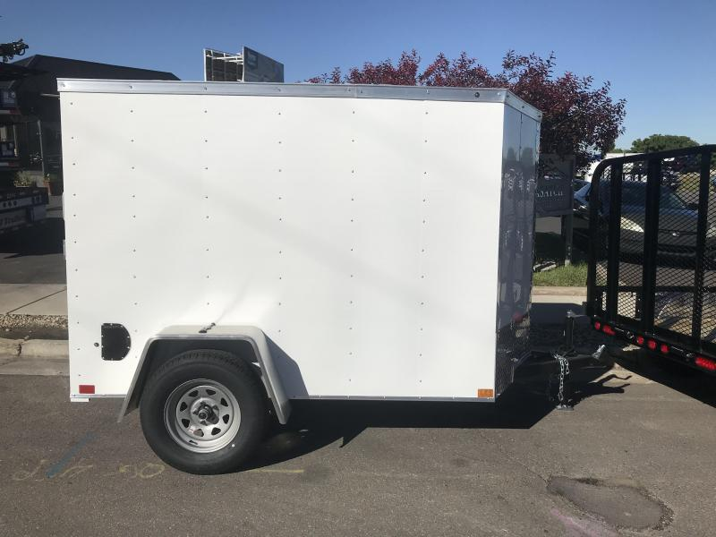 2018 Haulmark 5X8 VG3000 Enclosed Cargo Trailer