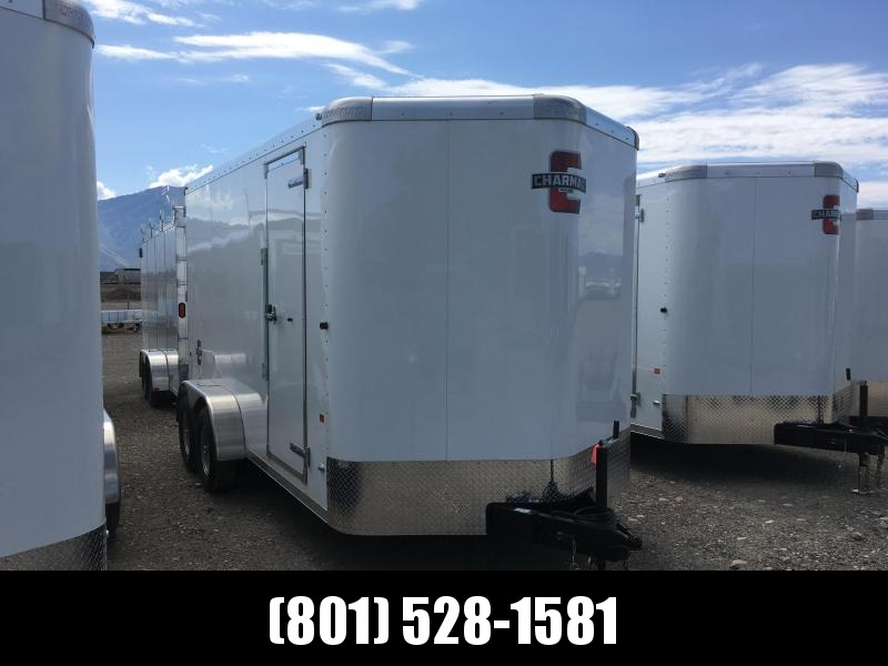 7x14 White Charmac Standard Duty Cargo Trailer in Ashburn, VA