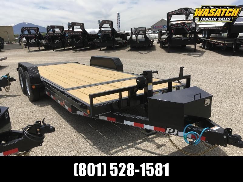PJ Trailers 6 in. Channel Tilt (T6) Equipment Trailer