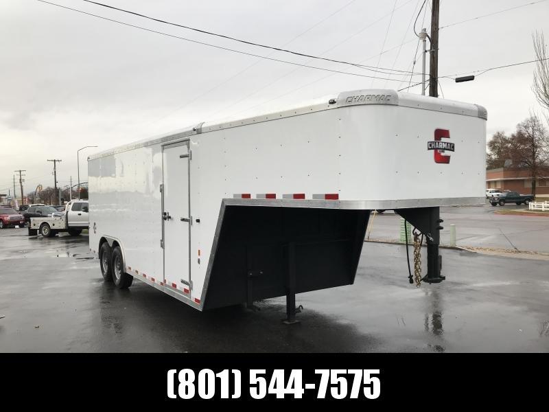2019 Charmac Trailers 20ft Gooseneck Enclosed Cargo Trailer in Ashburn, VA