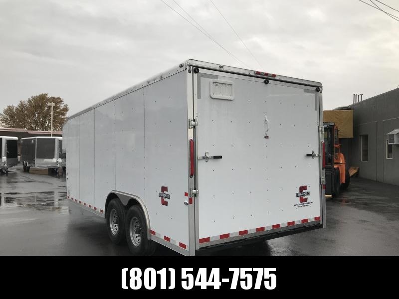 2019 Charmac Trailers 20ft Gooseneck Enclosed Cargo Trailer