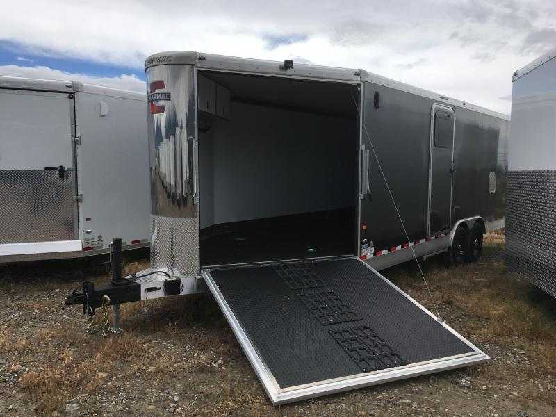 2019 28' Charmac Elite Trisport Snowmobile Trailer