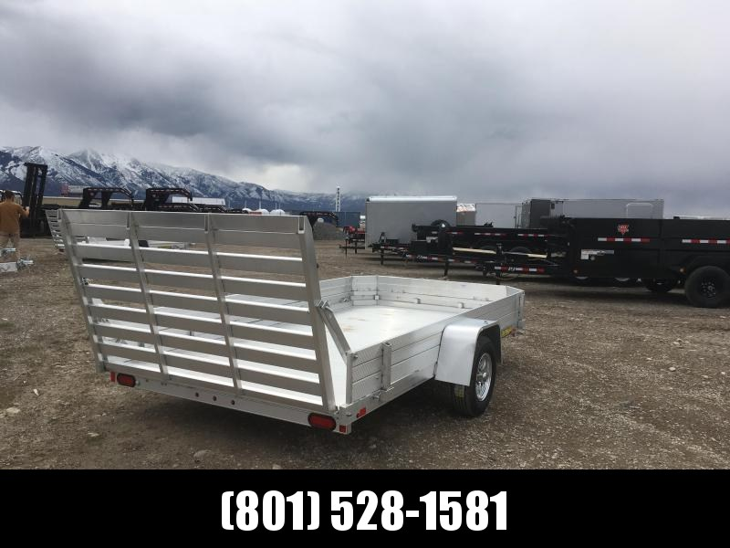 2019 Aluma 7712 12 Solid Side Utility Trailer