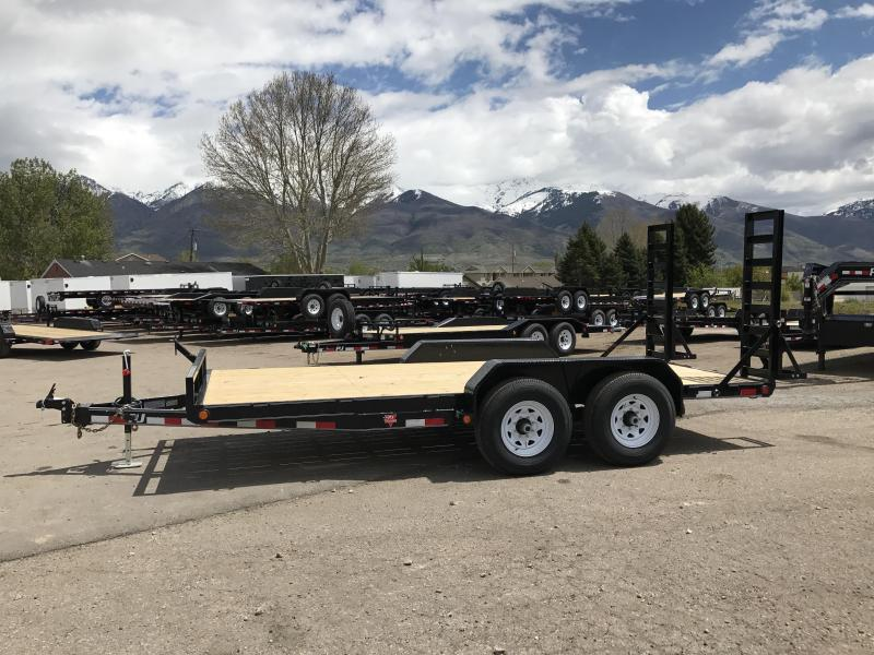 2018 PJ Trailers 16 CE Equipment Trailer