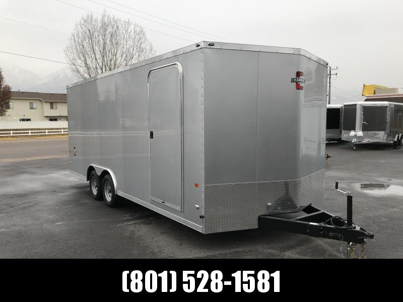 Charmac 100x20 Silver Stealth Cargo Trailer with Ramp