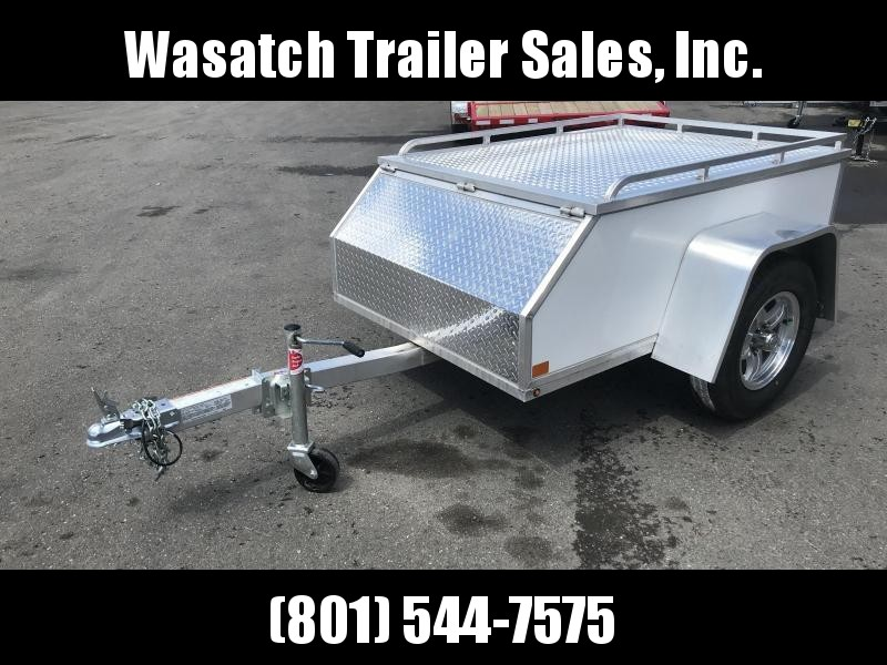 Aluma AE46 All-Purpose Enclosed Cargo Trailer