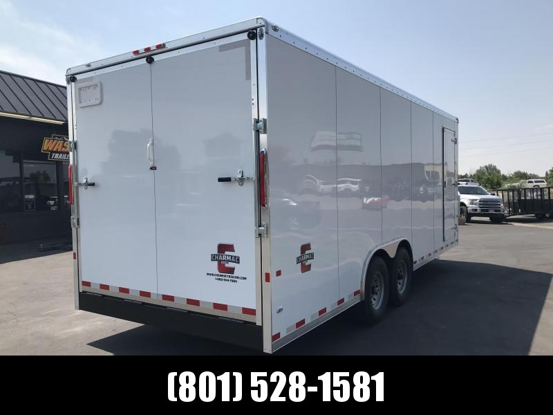 2019 Charmac Trailers 22ft Commercial Duty Enclosed Cargo Trailer