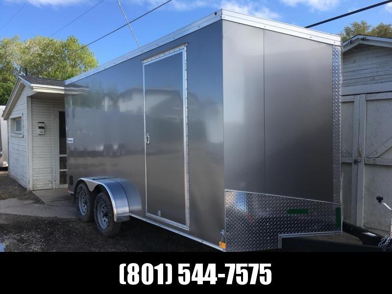 2018 Haulmark 7x16 Transport Enclosed Cargo Trailer