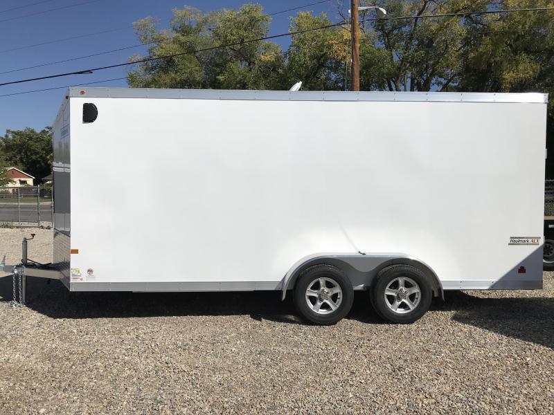 2018 Haulmark 7x18 Aluminum Enclosed Cargo Trailer Wasatch Trailer Sales Layton Utah