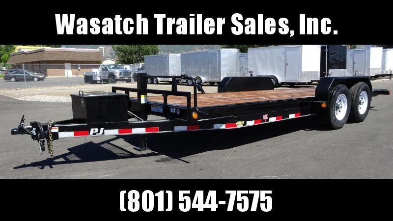 2019 PJ Trailers 20 Full Tilt Equipment Trailer