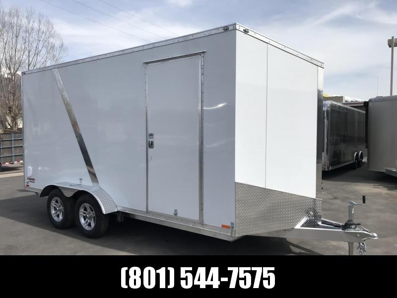 2019 Cargo Mate 7x16 ES Aluminum Equipment Trailer