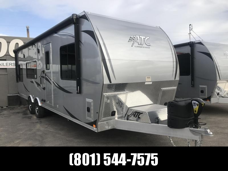 2019 ATC 28ft Bumper Pull Living Quarter Toy Hauler