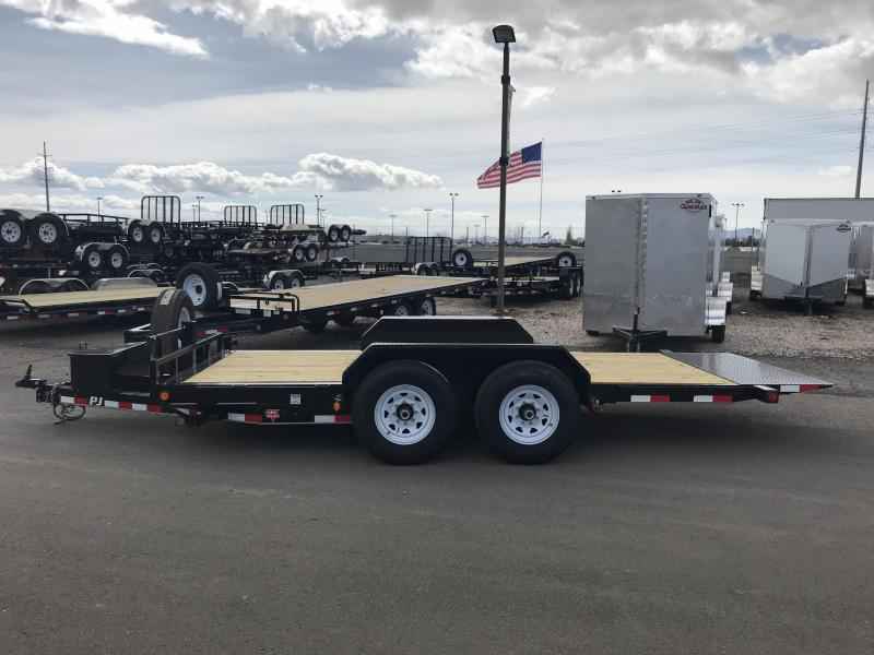 2019 PJ Trailers 16x6 Tilt Equipment Trailer
