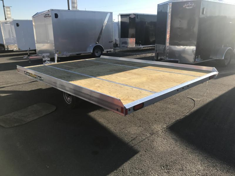 2018 Aluma 8612 Tilt Snowmobile Trailer