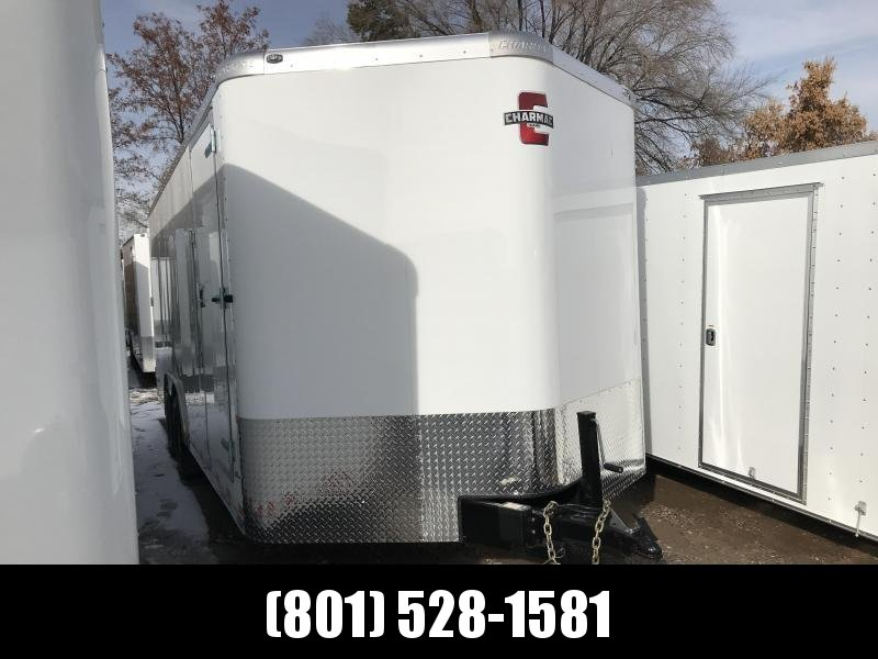 Charmac 100x22 White Commercial Duty Cargo with Barn Doors in Ashburn, VA