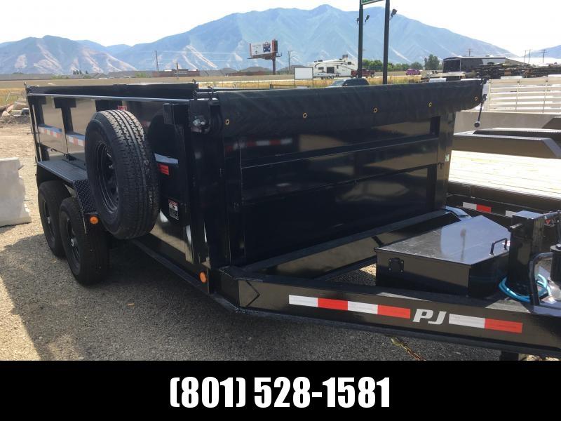 PJ Trailers 14ft - 83 Low Pro High Side Dump (DM) Trailer