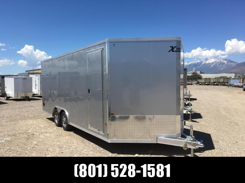8x20 Silver High Country Xpress Cargo Trailer