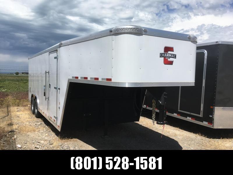 100x20 White Charmac Cargo Gooseneck Trailer in Ashburn, VA
