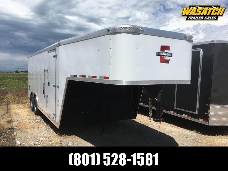 Charmac 100x20 Gooseneck Enclosed Steel Cargo