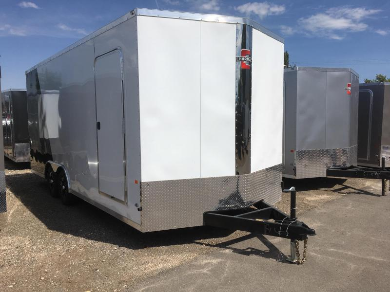 2019 Charmac Trailers 100x20 Stealth Cargo Trailer with Diamond Package