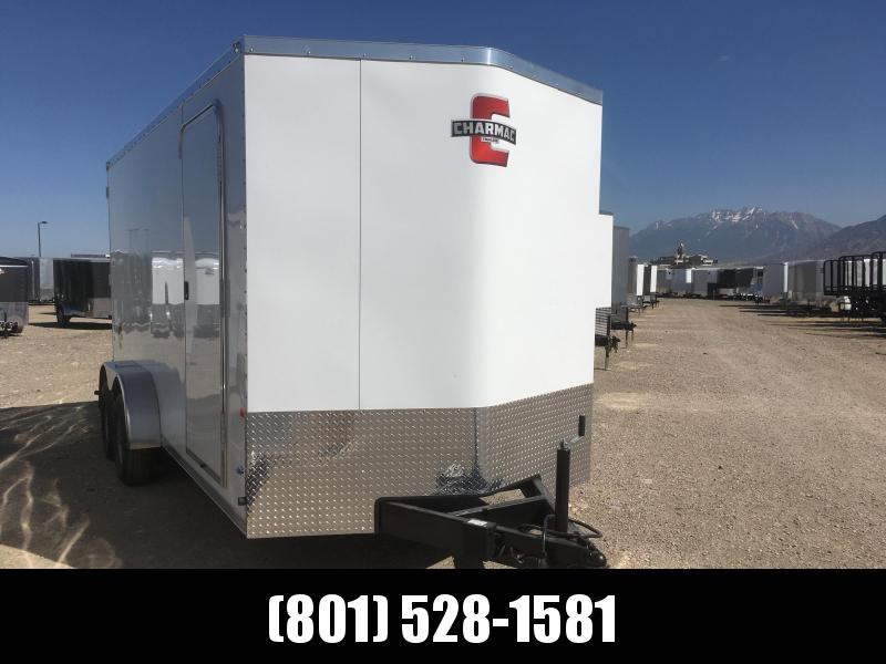 Charmac 7x16 White Stealth with Barn Doors in Ashburn, VA