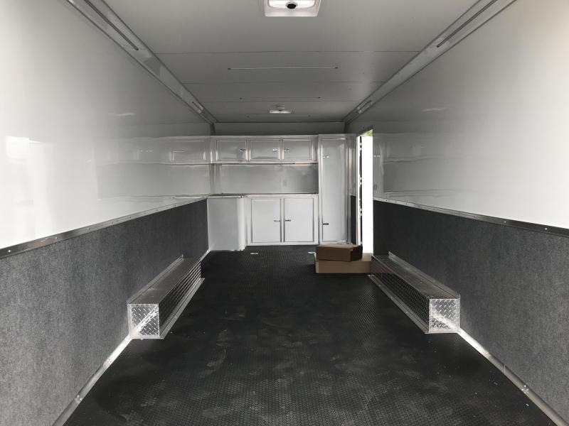 2018 Cargo Mate 8 x 24 Eliminator Carhauler Trailer