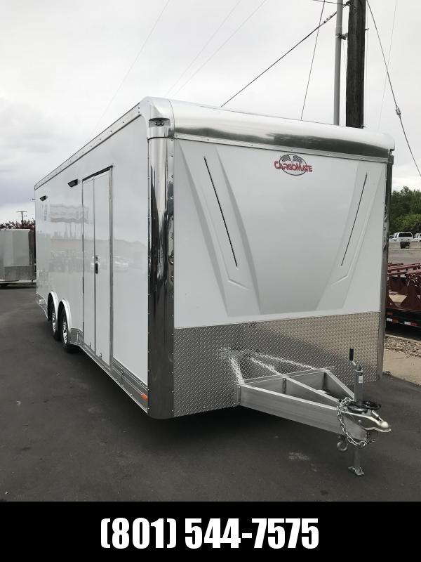 2018 Cargo Mate 8 x 24 Eliminator Carhauler Trailer in Ashburn, VA