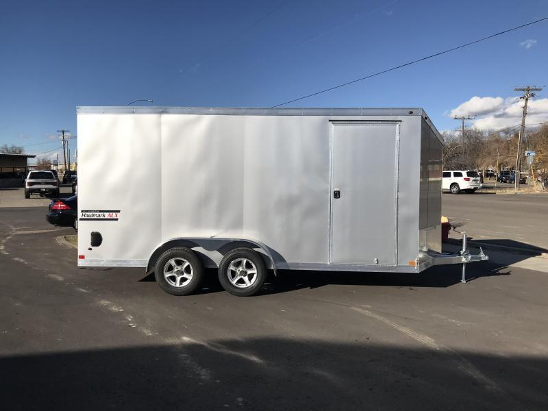 2018 Haulmark 7X16 Aluminum Enclosed Cargo Trailer