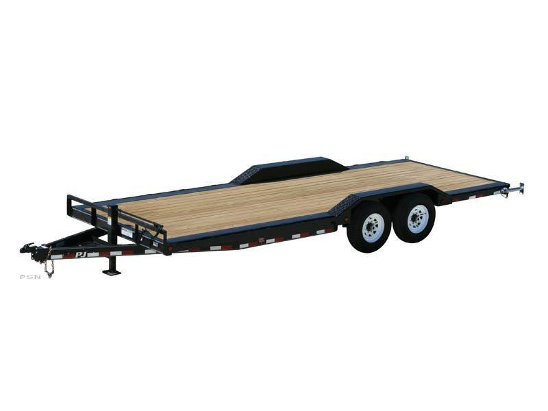 2019 PJ Trailers 22ft - 6 in. Channel Super-Wide (B6) Car / Racing Trailer