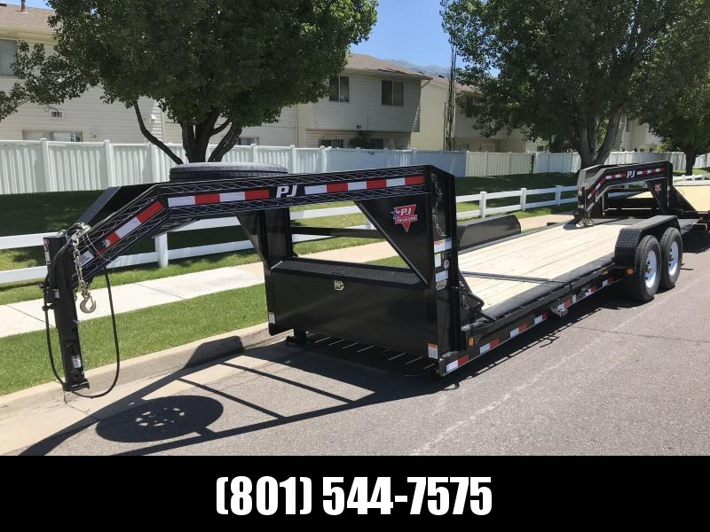 2019 PJ Trailers 24ft - HD Equipment Tilt 6 in. Channel (TJ) Equipment Trailer in UT