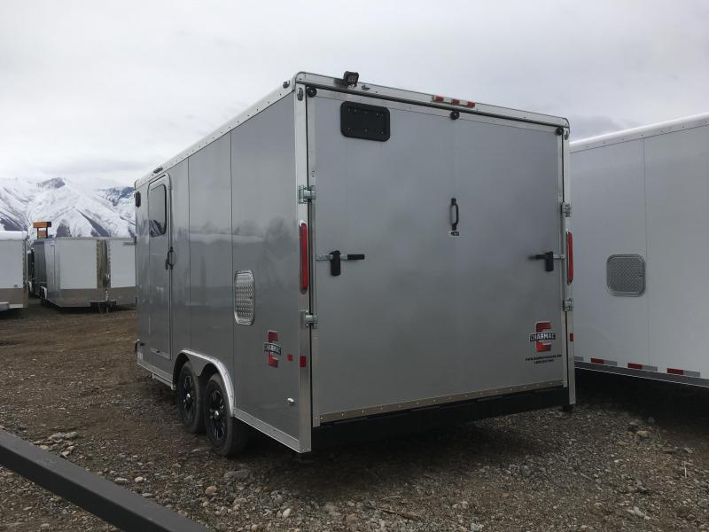 2019 Charmac Trailers 22ft Tri Sport Snowmobile Trailer