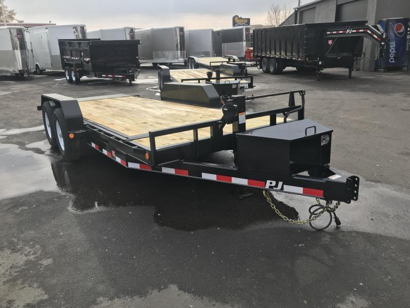 2019 PJ Trailers 18ft - 6 in. Channel Equipment Tilt (T6) Car / Racing Trailer